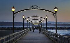 White Rock Pier 01 _front by iLight Technologies  #whiterock #whiterockpier #garymcgrattenrealtor