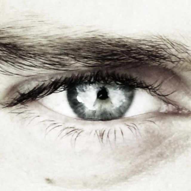 My eye pictured by other