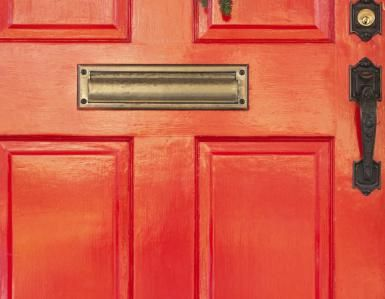 Find Feng Shui Colours for Your South Front Door: Best choice of colours for a South facing front door are determined by the feng shui elements that are nourishing for this direction - the elements of Fire and Wood. Using their corresponding colours will help you create a strong feng shui front door.