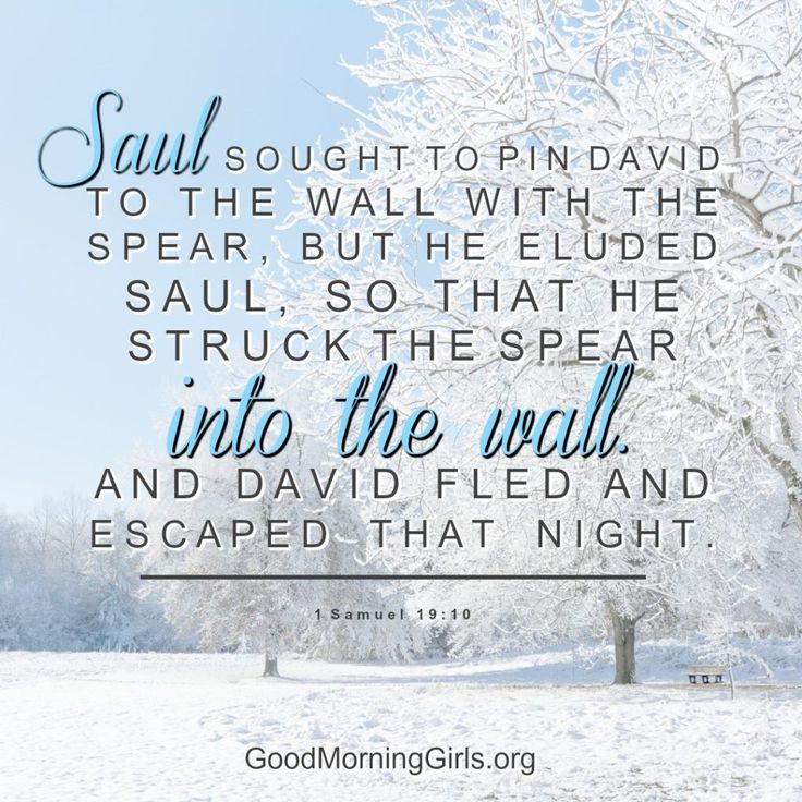 Good Morning Girls Resources {1 Samuel 16-20} - Women Living Well