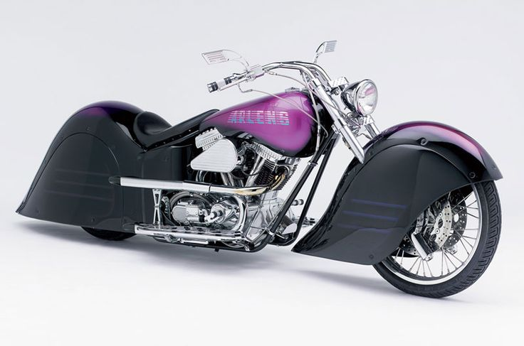 """Throwback Thursday Arlen's """"Convertible Sled"""" brings a whole new meaning to the idea of a convertible motorcycle.   When Harley offered easily removable fairing and bags, Arlen set out to build a true convertible. With help from famous automotive designer Tom Taylor, the two in one motorcycle """"Convertible Sled"""" was born.  #ArlenNess #Motorcycles #Harley #HarleyDavdson #HD #Vintage #OldSchool #Convertible"""