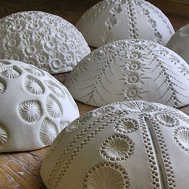 More wall pods in the making ✨ #porcelain #ceramicart #ceramic #ceramicstudio… …