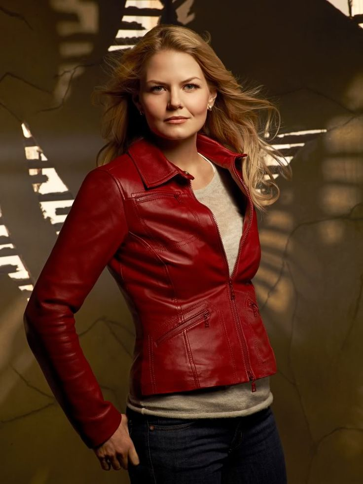 I pretend I watch the show for Jennifer Morrison's jackets alone. (Once Upon A Time)
