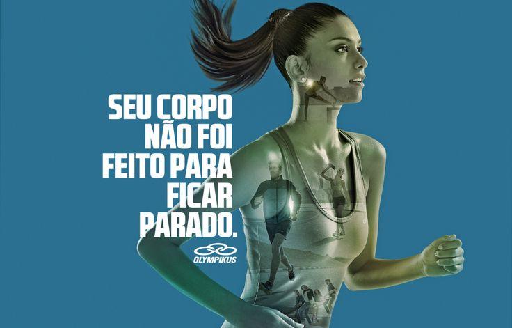 Campanha Olimpikus 2014  Agência DM9 Sul Fotógrafo Christian Gaul