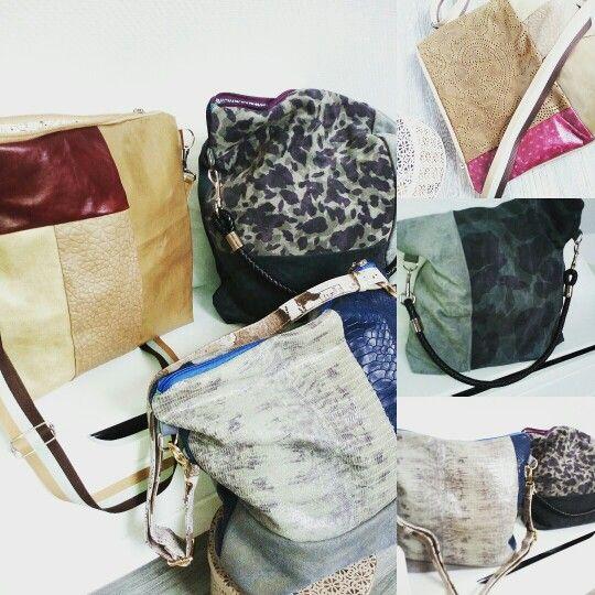 Leder Taschen- Handmade with love
