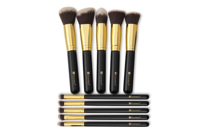 BH-Cosmetics Pinselset Make Up Pinsel PinselSet Augenpinsel Sculpt&Blend 10tlg 1  | eBay