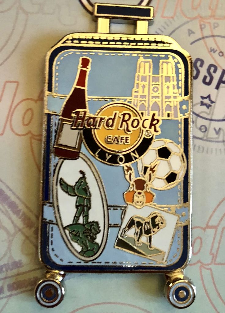 Pins Hard Rock Cafe Lyon