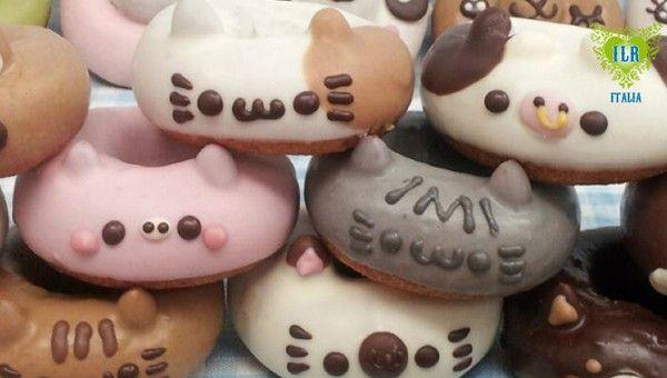 Boom in Giappone per le ciambelle a forma di animali. #Animali #ILRDigitalRadio