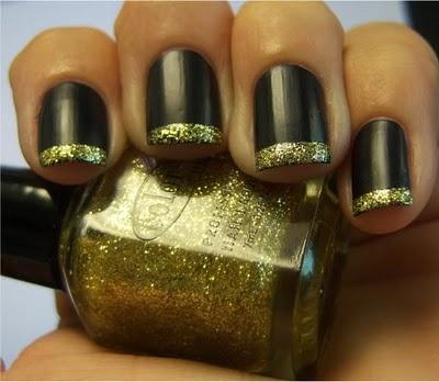 nail idea with my new xmas colors