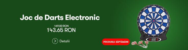 15% reducere la Joc de #Darts Electronic - http://goo.gl/l4h7Wc