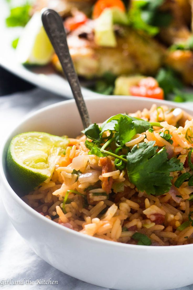 Quick and Easy Restaurant Style Mexican Rice - Girl and the Kitchen