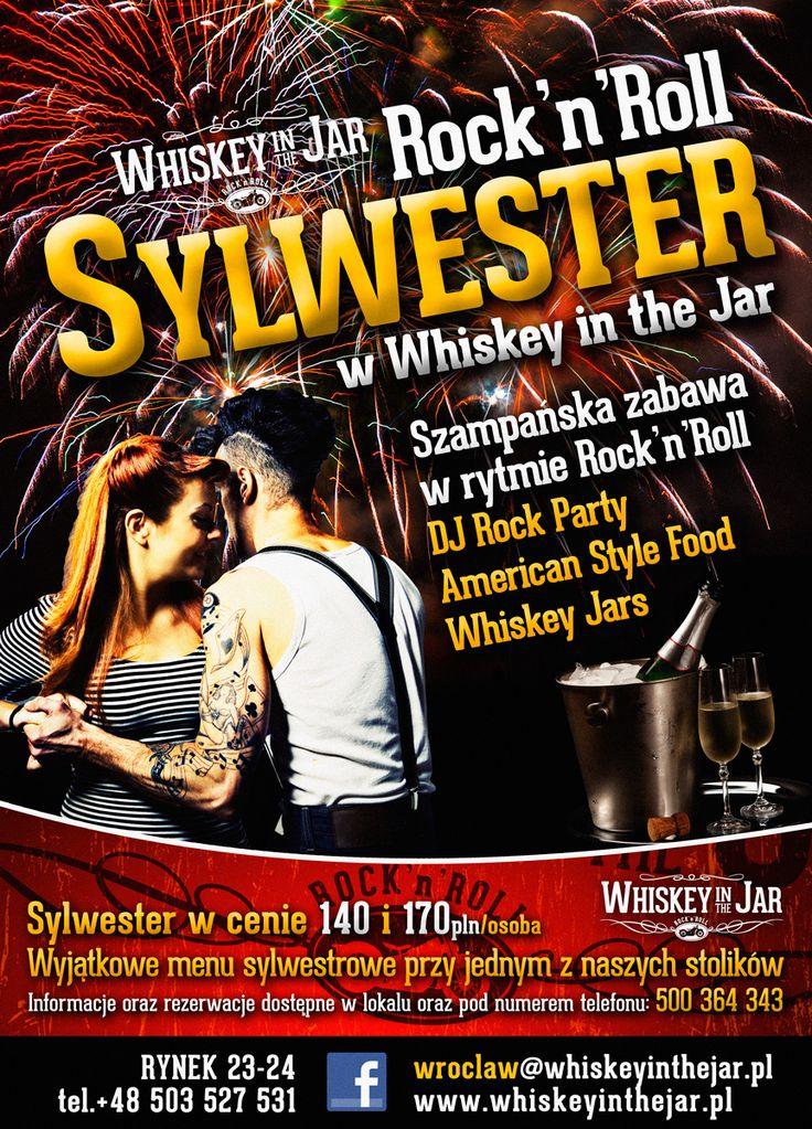 Sylwester w rytmie Rock'n'Rolla w Whiskey in the Jar Wrocław
