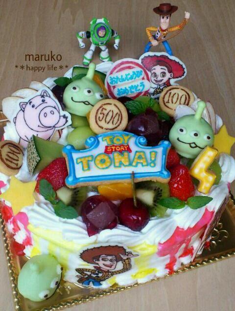 ☆トイストーリーマニア!!ケーキ☆