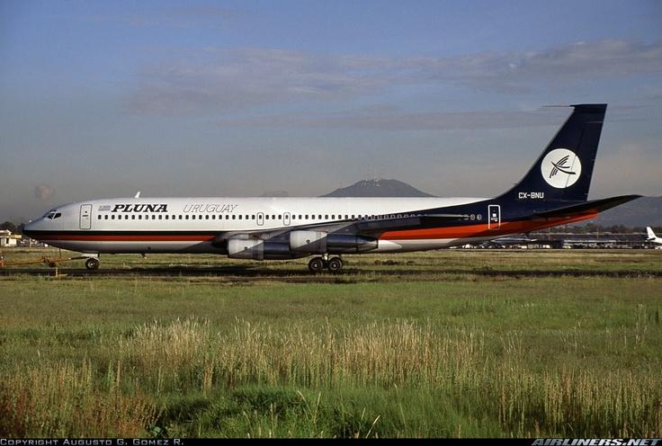PLUNA, national airlines
