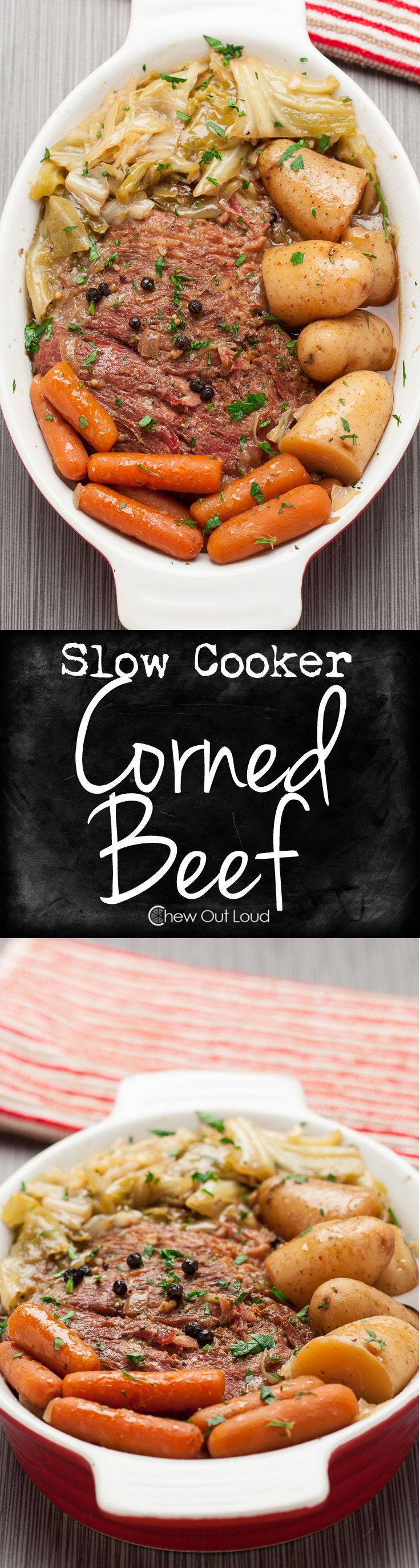 So tender, you don't even need a knife. So easy and delicious, they'll ask you to make it again and you'll be happy to. #beef #dinner #recipe