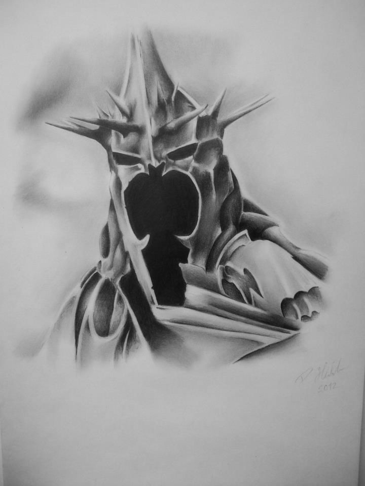 The witch king of Angmar by ~petrhlubek on deviantART