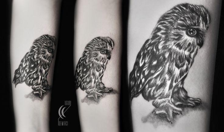 Realistic owl tattoo #owl #blackandwhite #realistic #tattoo #tattoodemirci #uğurdemircitattoo #uğurdemirci #drawing #tattooedgirl #illustration #tattoos #kadıköy #istanbul #216tattoo #216tattoopiercing
