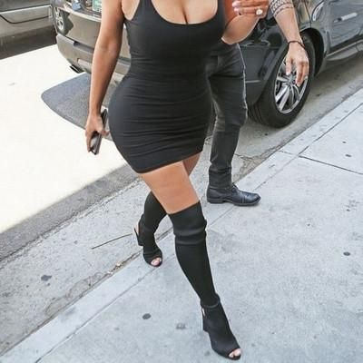 17 parasta ideaa: Womens Thigh High Boots Pinterestissä | Korkeat ...