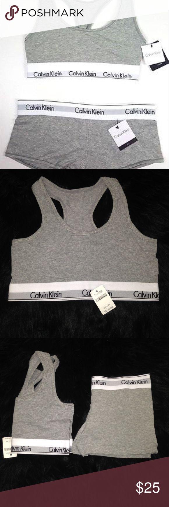 🚨ONE DAY SALE🚨 NWT CALVIN KLEIN BRALETTE NEW WITH TAG CALVIN KLEIN BRALETTE SIZE M (boyshorts not included) Calvin Klein Intimates & Sleepwear Bras