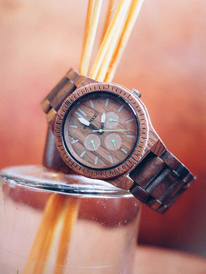 The WeWOOD Kappa Nut wooden watch.