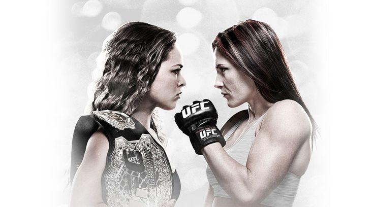 UFC 184, Ronda Rousey vs Cat Zingano and Arianny Celeste