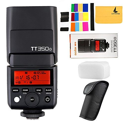 GODOX TT350o 2.4G HSS 1/8000s TTL GN36 Camera Flash Speedlite for Olympus / Panasonic Mirrorless Digital Camera:   brThis mini TT350o camera flash applies to Olympus / Panasonic Mirrorless Digital series cameras and is compatible with TTL autoflash. With this TTL compatible flash, your shooting will become simpler. br br Technical Data:/b brModel: TT350o brCompatible Cameras: Olympus / Panasonic Mirrorless Digital Camera brGuide No. (1/1 output @105mm): 36(m ISO 100) brExposure control...