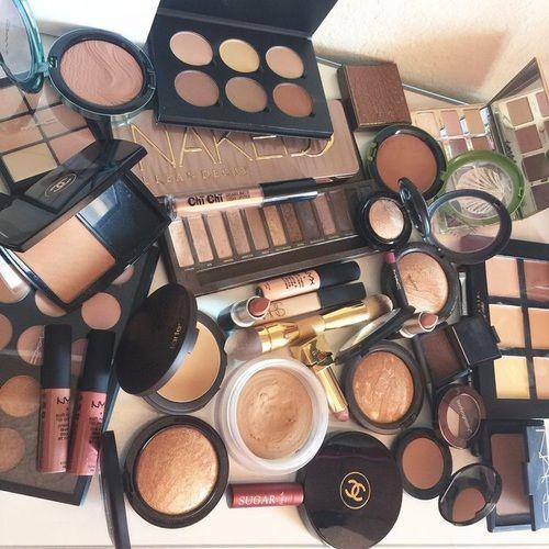 makeup, mac, and beauty