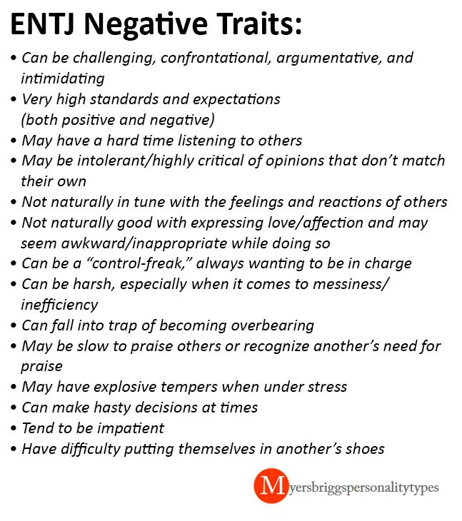 bad personality traits dating websites