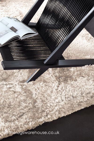 Adore Pure Beige Rug, a high quality luxury shaggy rug (hand-wove, advanced fine polyester) http://www.therugswarehouse.co.uk/beige-rugs/adore-pure-beige-rug.html #shaggyrugs #neutraldecor #rugs