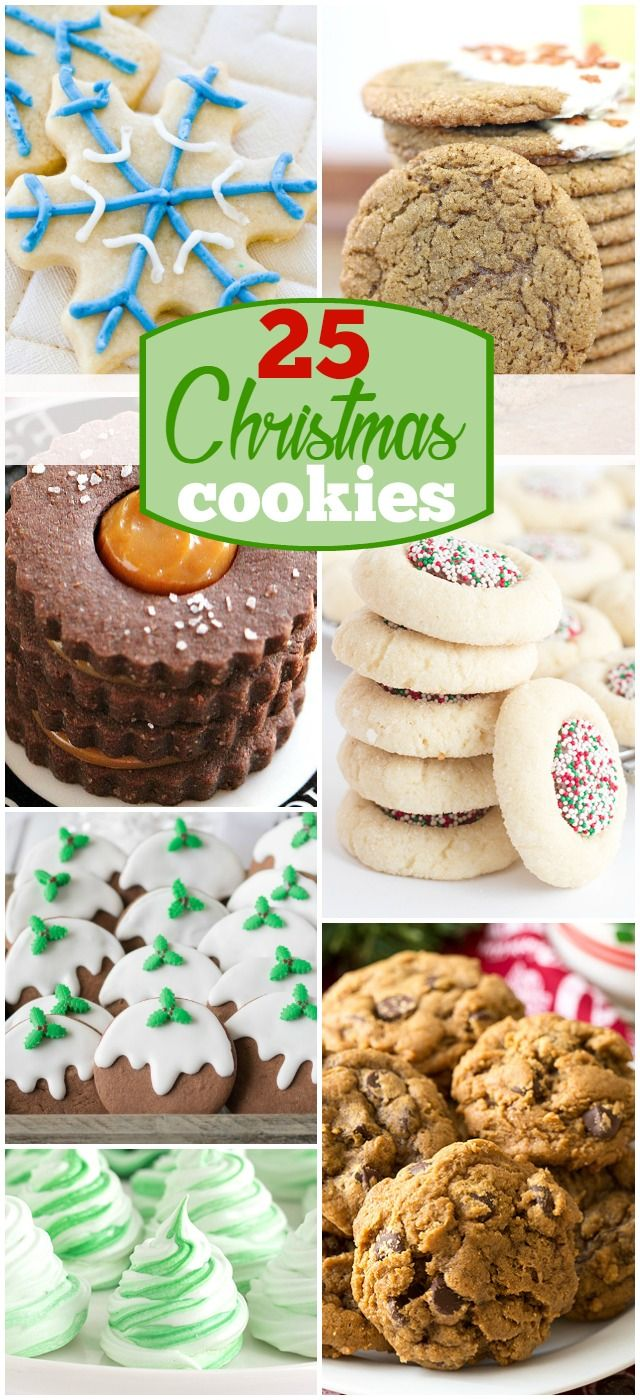 I'm celebrating 25 Christmas Cookies in July for the love of the holiday! Loads of gorgeous Christmas cookies for you to feast your eyes on and save!