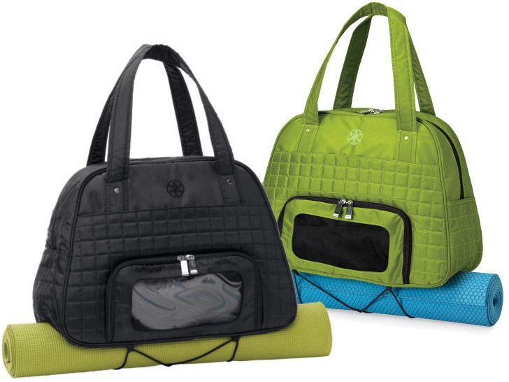 The EVERYTHING FITS It Really Does Gym Bag By Gaiam Is
