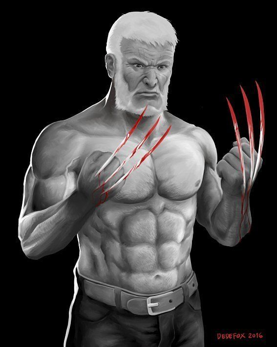 Old Logan . Art piece by @dedefox (IG) . . #logan #wolverine #xmen #marvel #marvelcomics . Hashtag Themed #Draw #Drawing #Art #Fanart #Artist #Illustration #Design #sketch #doodle #Geekart #Arthelp #Cartoon #Comic #Anime #Manga #Otaku #Gamer #Nerdy #Nerd #Comic #Geek #Geeky . . If you like the account please turn on notifications  it is very helpful to us and the artists  . Use # AmongGeeks & tag us for a chance to be featured in your Geek Art  and Cosplay pics