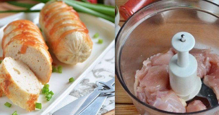 Теперь в магазине даже не подхожу к отделу сосисок: Домашние куриные сосиски - Apetitno.TV