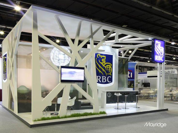 Exhibition Stand Tree : Rbc at sibos dubai exhibition stand design pinterest