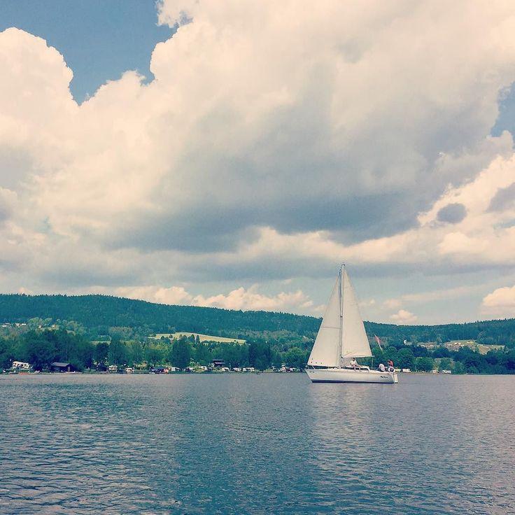 Teambuilding na Lipně #sailing #sailboat #lipnolake #lipno #marina #sunnyday #sunny #vocation #teambuilding #southbohemia
