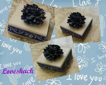 """These """"tile"""" soaps are so versatile to match any wedding theme!  So many designs, patterns and flowers to choose from!"""