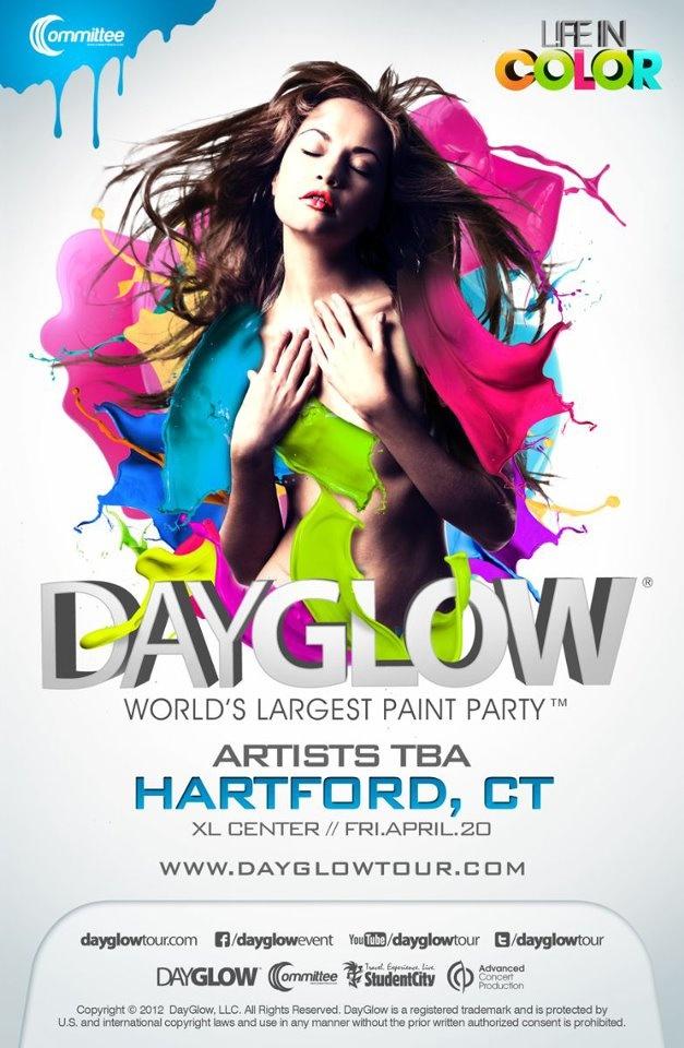 Day Glow! Hartford XL Center.  Amazing show!