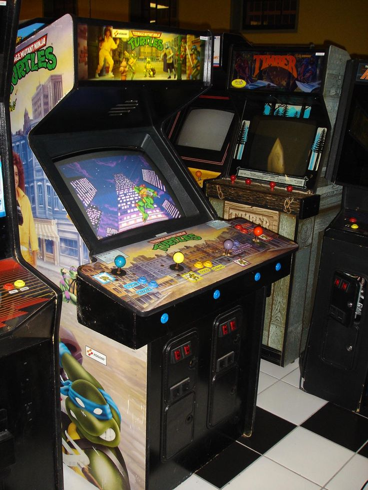 Teenage Mutant Ninja Turtles arcade game Arcade, Retro