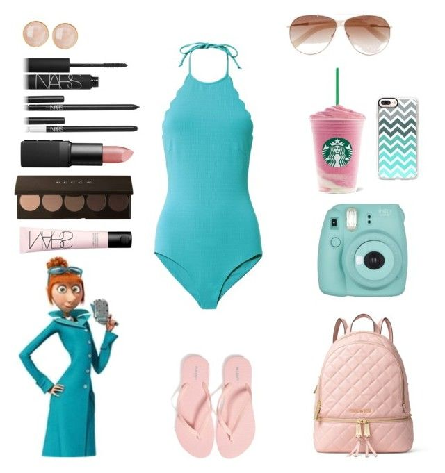 """Lucy wilde"" by crystalgems125 ❤ liked on Polyvore featuring Marysia Swim, Casetify, NARS Cosmetics, Fujifilm, Saachi, MICHAEL Michael Kors, Old Navy and Tom Ford"