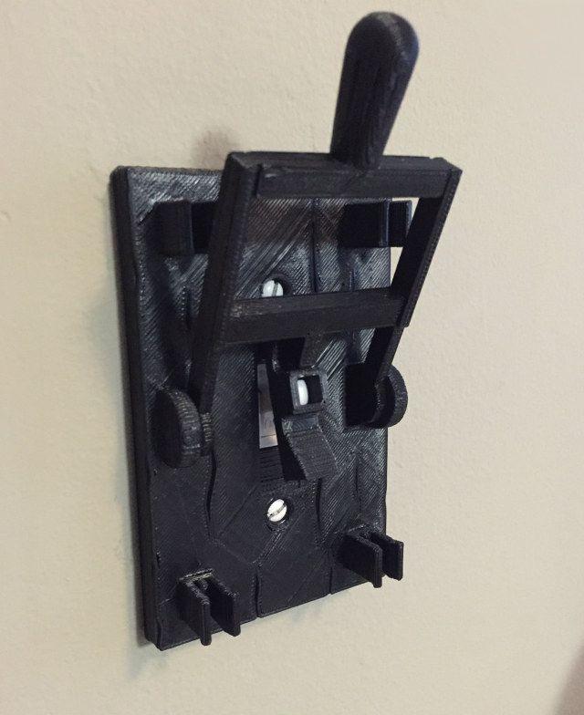 It's Alive!: Dr. Frankenstein Inspired Light Switch Plates