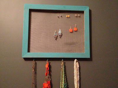 The Chirping Moms: DIY Jewelry Organization