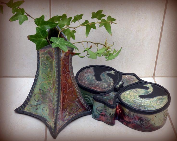 art nouveau and raku