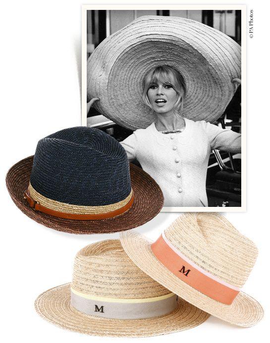 Chapeaux de paille été http://www.vogue.fr/mode/shopping/diaporama/chapeaux-de-paille-ete-maison-michel-stetson-borsalino/14301