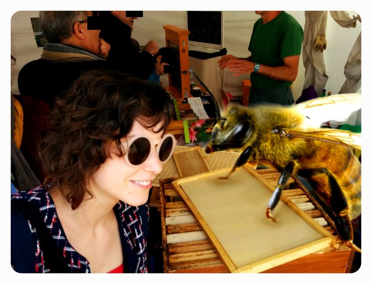Adopt a bee, save the drones!  Giant bees up for adoption in #paris ! http://basedonafact.wordpress.com/2014/05/31/adopt-a-bee-save-the-drones/  #bees #honey #laladrona #parisart #fiction #adoption