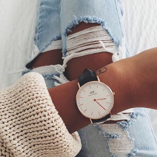 Daniel Wellington watch. Get 15% off your order with code SRAT - womens gold watches sale, best womens watches, womens watches gold