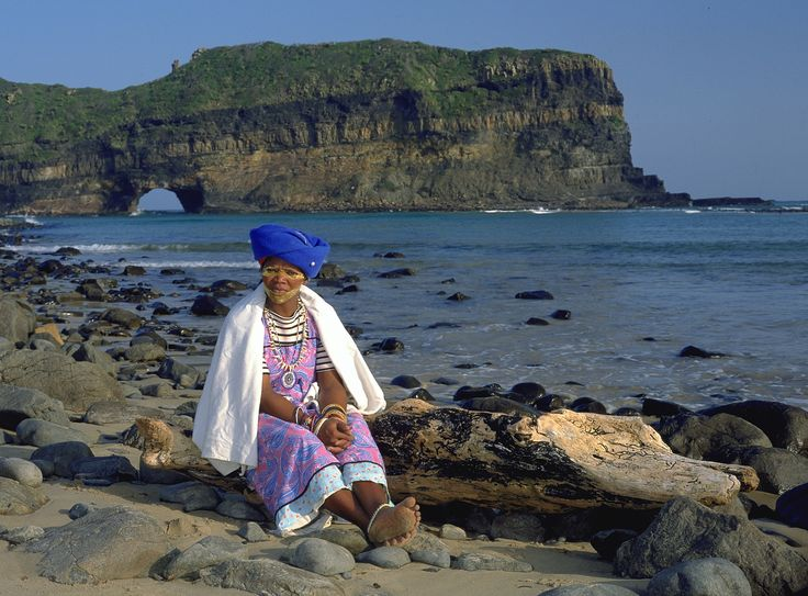 Xhosa Woman by The Hole In The Wall - Eastern Cape South Africa