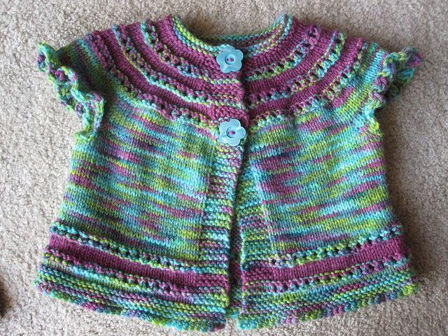 Maggie's Flower Tunic - Nancy Barrett - Ravelry free pdf pattern
