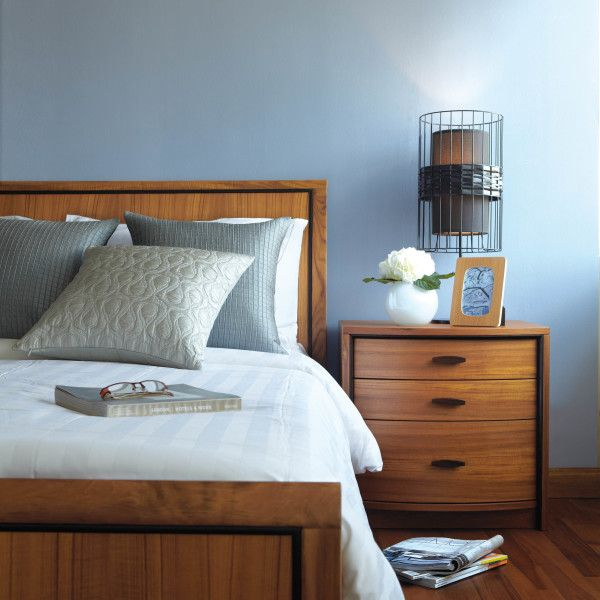 """Bedroom 86 series features a classic tall headboard. The solid Wood dressers, nightstand, and chest are highlighted with rosewood inlay and handles, while the drawers have sightly curved fronts.  Dimensions: Queen bed - 63""""W x 89""""L x 39""""H King bed - 80""""W x 89""""L x 39""""H Nightstand - 22""""W x 18""""D x 22""""H Double Dresser - 72""""W x 18""""D x 31""""H Gents Dresser - 48""""W x 19""""D x 48""""H"""