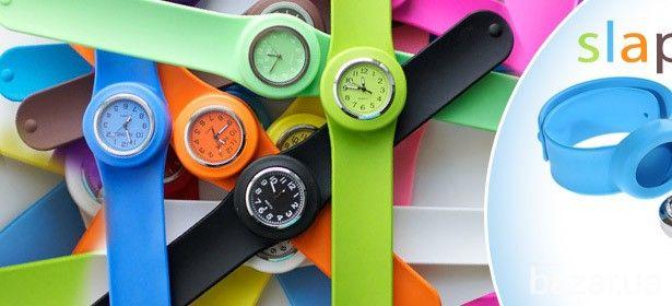 Цветные слэп-часы+запасная батарейка! (Гарантия) - Наручные часы Луцк на Bazar.ua