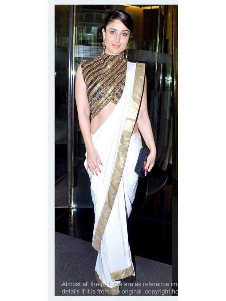 Kareena Kapoor Heavy Blue Bollywood Replica Designer Saree